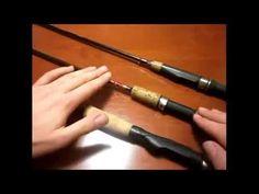 Caña de cucharilla o lance ligero - spinning rod - YouTube