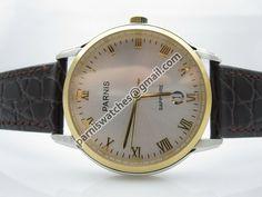 PARNIS SWISS QUARTZ SILVER DIAL 2TONE CASE DATE BR - Quartz chronograph - Parnis watch station