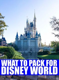 I promise you it is really easy to pack for Disney World and this Disney World Packing list will make your life so much easier. There is also a FREE Disney World Packing List printable. Packing List For Disney, Disney World Packing, Disney Vacation Planning, Disney Vacations, Vacation Ideas, Vacation Movie, Disney Travel, Dream Vacations, Disney World Map
