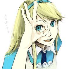 /Alice (Alice In Wonderland)/#483000 - Zerochan ❤ liked on Polyvore featuring anime, alice in wonderland, drawings, disney and alice