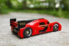 The Coolest Pinewood Derby Car To Never Race
