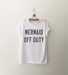 Mermaid Shirt Funny T Shirts with sayings Tumblr Grunge Shirts Graphic Tee for Womens Clothing Fashion Tops T Shirt