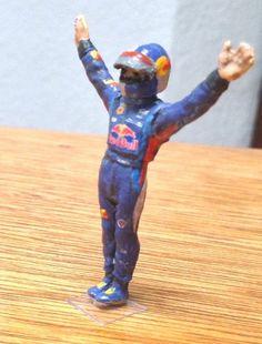 F1 Champion Sebastian Vettel 2013 1 43 Scale Hand Painted Figure | eBay