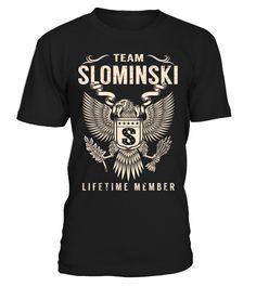 Team SLOMINSKI - Lifetime Member