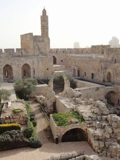 Tower of David Citadel Jerusalem, Israel