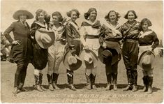 Vintage Cowgirls Photograph