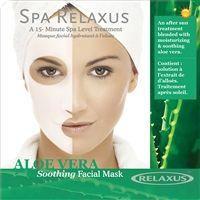 Spa Relaxus - Aloe Vera Face Masks - PPK of 12
