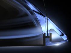 LED direct light PMMA pendant lamp AMELUNA by Artemide Italia design…
