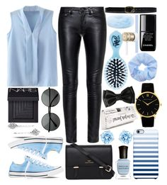 """""""Black and blue"""" by andreastoessel ❤ liked on Polyvore"""