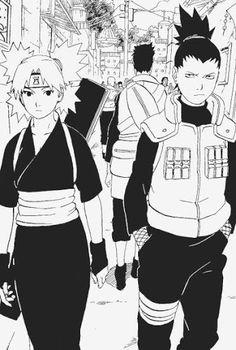 ShikaTema Naruto Couple