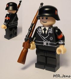 Waffen SS Parade Soldier WWII LEGO