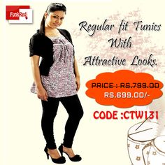 Get your casual looks redefined with this tunic. The floral paintings will add to the style as well as the soft fabric will add to the comfort.