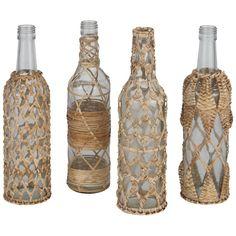 freedom furniture Hazel Woven Bottle Glass Assorted