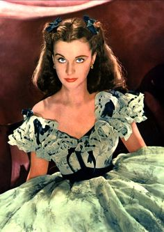 Vivien Leigh in 'Gone with the Wind', 1939