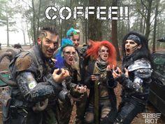 = LivingDreadDoll = COFFEE pose #Wasteland #Post #Apocalyptic #apocalypse…