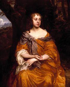 Portrait of Miss Wharton Sir Peter Lely - circa 1660