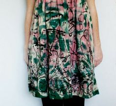 DIY messy dress... it's so easy
