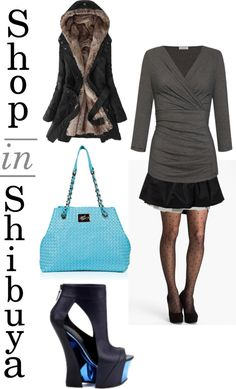 """What to wear in Shibuya, Tokyo"" by herroyalflyness on Polyvore #style, #handbag"