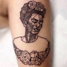 Frida+Kahlo+By+Roberto+Euán,+Bone+Deep+Tattoo+in+Camarillo,+CA.jpg (640×640)