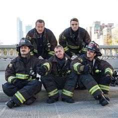 This squad is straight FIRE. Chicago Fire Casey, Taylor Kinney Chicago Fire, Chicago Med, It Movie Cast, Movie Tv, Fox Tv Shows, Chicago Justice, Firefighter Pictures, Chicago Shows