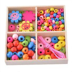 01/07/2016 Hello 8 Season, China, Ebay 1Box Colorful Wood Beads Kit Smile Sunflower = 82p === £217.83