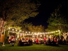 Wedding Reception Lighting Basics | Photo by: Matt Theilen Photography | TheKnot.com