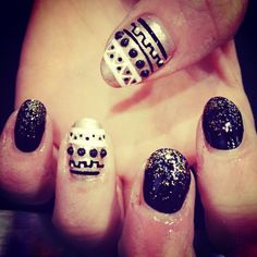 GLITTER FADE AND STUDDED EGYPTIAN BY IZZY