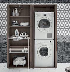 Birex Acqua e Sapone - Hochschrank für Geräte - MN3000 - Waschzusammensetzungen