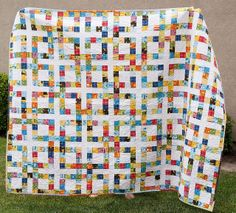 Scrappy quilt ideas.