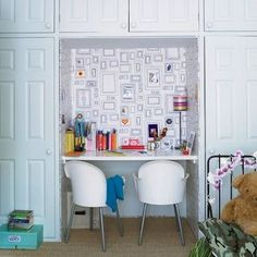 6 Beautiful Ways to Carve Out Creative Spaces for the Kids