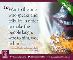 Speak the truth always. Alhamdulillah