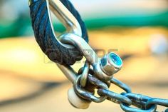 hawser: Rope , the joints in the playground . Sailing Pictures, Metal Chain, Royalty Free Images, Playground, Stock Photos, Children Playground, Outdoor Playground