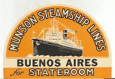 Munson Line ~ Munson Steamship Line