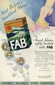 Colgate's Fab ad