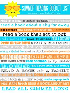 Fun ( and easy ) ideas to keep summer reading fun for your kids all summer long. Links to book recs as well!
