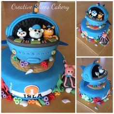 1st birthday octonauts cake