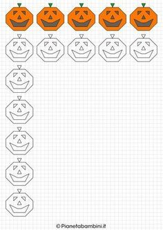 Squares Halloween Frames to Draw and Color- Cornicette di Halloween a Quadretti da Disegnare e Colorare Squares Halloween Frames to Draw and Color Graph Paper Drawings, Graph Paper Art, Halloween Frames, Bullet Journal Key, Doodle Coloring, Drawing For Beginners, Educational Toys, Cross Stitching, Blackwork