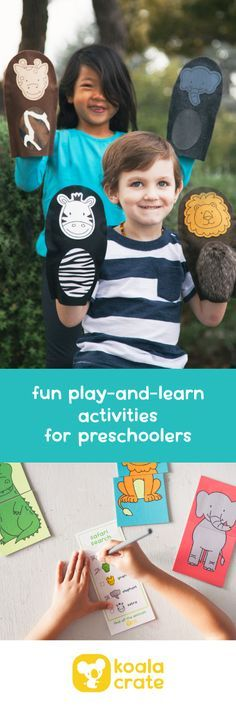 Play and Learn with Koala Crate! Get creative hands-on projects for your preschooler delivered every month. Save 30% on your 1st month with code PINTEREST30!