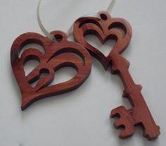Love Lock and Key by KentsKrafts on Etsy, $6.00