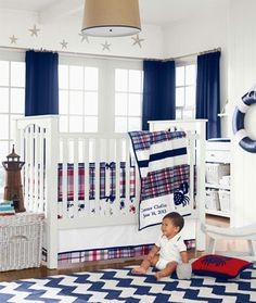 10 Baby Boy Nursery Inspiration - with crabs for MD pride