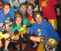 Best Costume ever: Legends of the Hidden Temple teams!