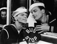 Frank Sinatra and Gene Kelly in Anchors Aweigh