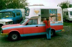 Morris Ital Ice Cream Van.