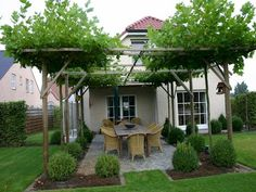 The pergola you choose will probably set the tone for your outdoor living space, so you will want to choose a pergola that matches your personal style as closely as possible. The style and design of your PerGola are based on personal Rustic Pergola, Pergola Carport, Building A Pergola, Wooden Pergola, Pergola Plans, Pergola Kits, Carport Garage, Black Pergola, Cheap Pergola