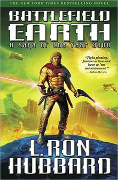Battlefield Earth: A Saga of the Year 3000 - L. Ron Hubbard is off his rocker when it comes to his made-up religion (Scientology), but in Battlefield Earth, the man wrote a science fiction novel of epic proportions. The dialogue is a bit weird at first, but I really LOVED this book (and no, it is not a vehicle for desensitization to Scientology. It really is just a novel).