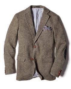 Gant by Michael Bastian tweed blazer.....