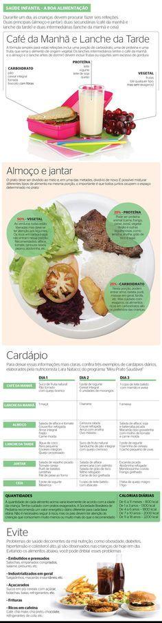 Como preparar refeições e pensar com carinho na alimentação das crianças