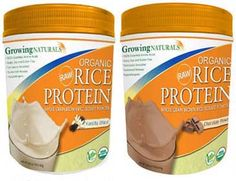 Gluten Free Raw Rice (and Pea) Protein Powders Review and Giveaway