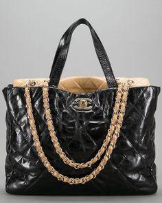 Chanel -- Portobello Glazed Shopping Tote
