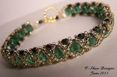 Emerald Reversible Bracelet